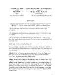 Thông tư Số: 25/2012/TT-NHNN , THÔNG TƯ VỀ VIỆC BÃI BỎ MỘT SỐ VĂN BẢN QUY PHẠM PHÁP LUẬT DO THỐNG ĐỐC NGÂN HÀNG NHÀ NƯỚC VIỆT NAM BAN HÀNH