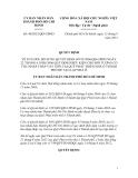 Quyết định Số: 40/2012/QĐ-UBND VỀ SỬA ĐỔI, BỔ SUNG QUYẾT ĐỊNH SỐ 91/2006/QĐ-UBND NGÀY 22 THÁNG 6 NĂM 2006 QUY ĐỊNH ĐIỀU KIỆN CHO ĐỐI TƯỢNG CÓ THU NHẬP THẤP VAY TIỀN TẠI QUỸ PHÁT TRIỂN NHÀ Ở THÀNH PHỐ ĐỂ TẠO LẬP NHÀ Ở