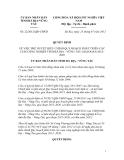 Quy định Số: 22/2012/QĐ-UBND VỀ VIỆC PHÊ DUYỆT ĐIỀU CHỈNH QUY HOẠCH PHÁT TRIỂN CÁC CỤM CÔNG NGHIỆP TỈNH BÀ RỊA - VŨNG TÀU GIAI ĐOẠN 2012-2020