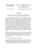 Chỉ thị  Số: 11/CT-UBND VỀ TĂNG CƯỜNG CÔNG TÁC QUẢN LÝ MÔI TRƯỜNG KINH DOANH DU LỊCH TRÊN ĐỊA BÀN TỈNH QUẢNG NINH