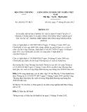 Thông tư   Số: 24/2012/TT-BCT, SỬA ĐỔI, BỔ SUNG THÔNG TƯ SỐ 21/2010/TT-BCT NGÀY 17 THÁNG 5 NĂM 2010 CỦA BỘ CÔNG THƯƠNG THỰC HIỆN QUY TẮC XUẤT XỨ TRONG HIỆP ĐỊNH THƯƠNG MẠI HÀNG HÓA ASEAN