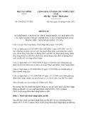 THÔNG TƯ SỐ Số: 154/2012/TT-BTC SỬA ĐỔI MỨC THUẾ SUẤT THUẾ NHẬP KHẨU ƯU ĐÃI ĐỐI VỚI CÁC MẶT HÀNG THUỘC NHÓM 2815.11.00 VÀ NHÓM 2842.10.00 TRONG BIỂU THUẾ NHẬP KHẨU ƯU ĐÃI