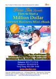 How To Start A Million Dollar Internet Business Mini eBook