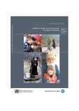 Children's health and environment: A review of evidence