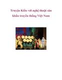 Truyện Kiều và nghệ thuật sân khấu truyền thống Việt Nam