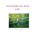 """Cấu trúc ẩn hiện trong """"Kẻ cắp xe đạp"""""""