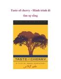 Taste of cherry - Hành trình đi tìm sự sống