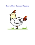 How to Draw Cartoon Chickens
