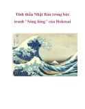 """Tinh thần Nhật Bản trong bức tranh """"Sóng lừng"""" của Hokusai"""