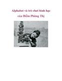 Alphabet và trò chơi hình học của Điềm Phùng Thị