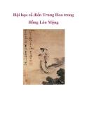 Hội họa cổ điển của Trung Hoa trong Hồng Lâu Mộng