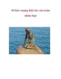 10 bức tượng kiệt tác của toàn nhân loại