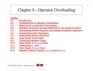 Lập trình C++ - Chapter 8