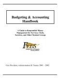 Handbook of Budgeting and Accounting...