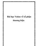 Bài học Vedan về số phận thương hiệu