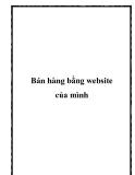 Bán hàng bằng website của mình