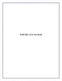 Xuất hiện virus Facebook.