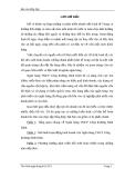 Luận văn: Giải pháp hạn chế rủi ro trong phương thức thanh toán tín dụng chứng từ tại Ngân hàng Công thương Chi nhánh Bình Định