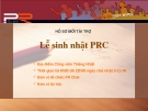 Giới thiệu về PRC