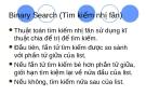 Binary Search (Tìm kiếm nhị phân)