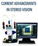 CURRENT ADVANCEMENT IN STEREO VISION
