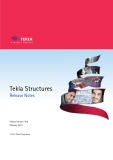 Tekla Structures Release Notes