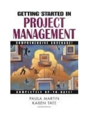 Etting Started inProject Management