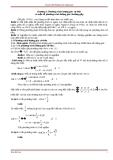 Chuyên đề: Phương trình lượng giác
