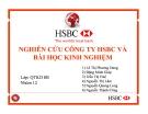 Đề Tài: NGHIÊN CỨU CÔNG TY HSBC VÀ BÀI HỌC KINH NGHIỆM