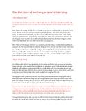Các khái niệm về bán hàng và quản trị bán hàng