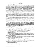 """""""Ứng dụng phần mềm Microstation và Famis trong việc thành lập bản đồ địa chính tờ bản đồ số một của xã Phú hiệp, huyện Tam Nông, tỉnh Đồng Tháp, 2012""""."""
