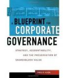 A Blueprint for Corporate Governance Modern Corporation