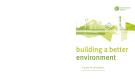 Building a better environment