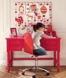 Làm sao để thiết kế góc học tập cho trẻ?