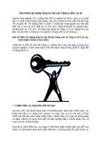 Chìa khóa xây dựng lòng tin của các Công ty SEO uy tín
