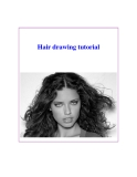 Hair drawing tutorial