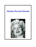 Marilyn Portrait Tutorial