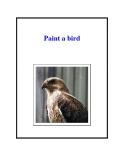 Paint a bird