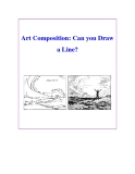 Art Composition: Can you Draw a Line?