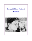 Portrait d'Harry Potter et Hermione