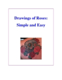 Drawings of Roses: Simple and Easy
