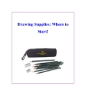 Drawing Supplies: Where to Start!