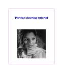 Portrait drawing tutorial