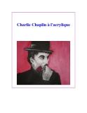 Charlie Chaplin à l'acrylique