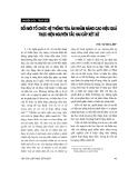"""Báo cáo """" Đổi mới tổ chức hệ thống tòa án nhằm nâng cao hiệu quả thực hiện nguyên tắc hai cấp xét xử  """""""