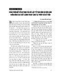 """Báo cáo """" Hoàn thiện một số quy định của bộ luật tố tụng hình sự hiện hành nhằm nâng cao chất lượng tranh tụng tại phiên tòa sơ thẩm """""""