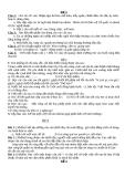 Một số đề thi học sinh giỏi - Tiếng Việt lớp 3