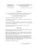 Quyết định số 1391/QĐ-UBND