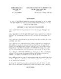 ỦY BAN NHÂN DÂN TỈNH PHÚ YÊN -------Số: 735/QĐ-UBND  CỘNG HÒA XÃ HỘI CHỦ NGHĨA