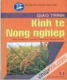 Giáo trình môn Kinh tế nông nghiệp - NXB Hà Nội